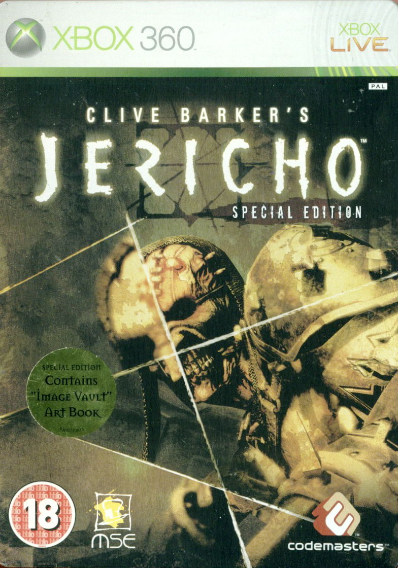 Clive Barker's Jericho (Special Edition) Xbox 360 Front Cover
