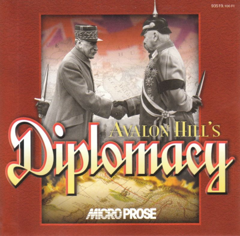 Avalon Hill's Diplomacy Windows Other Jewel Case - Front