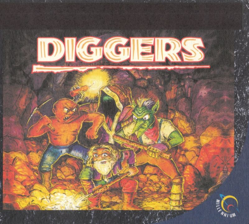 Diggers DOS Other DigiPak - Outside Left