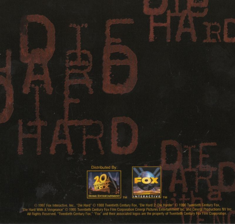 Die Hard Trilogy Windows Other DigiPak - Back