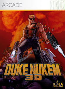 Duke Nukem 3D: Atomic Edition Xbox 360 Front Cover