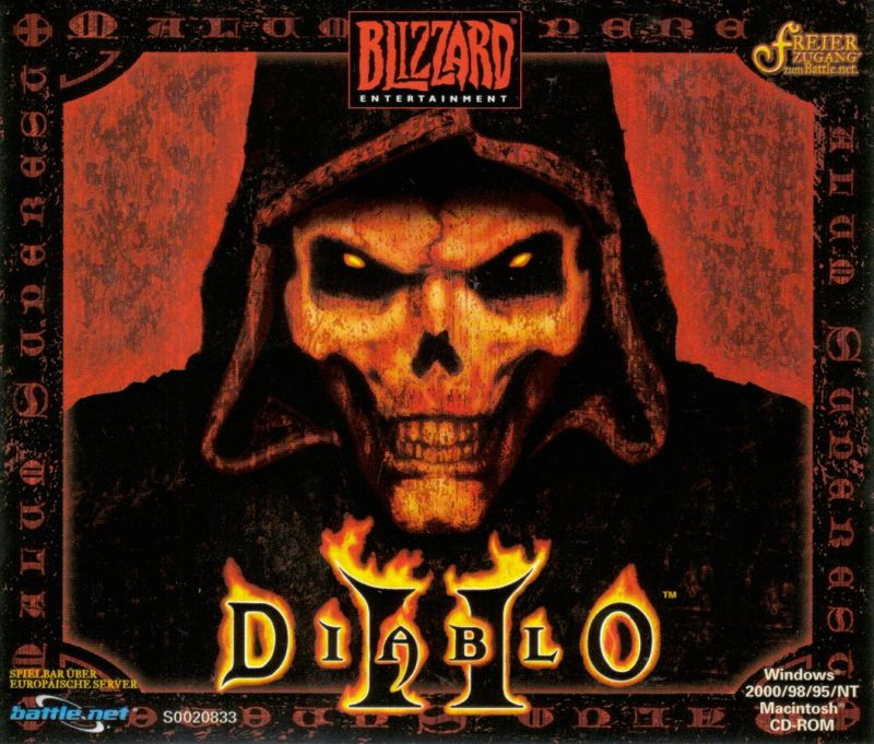 Diablo: Battle Chest Macintosh Other Diablo II - Jewel Case - Front