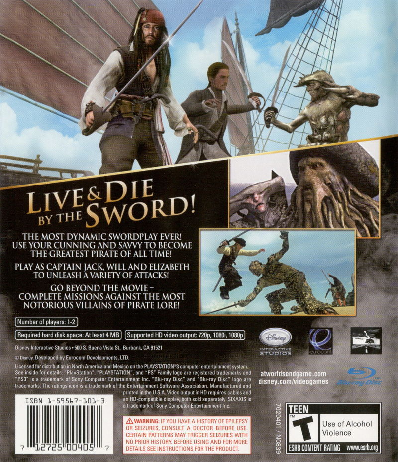 Disney Doppelgangers Pirates Edition: Disney Pirates Of The Caribbean: At World's End (2007