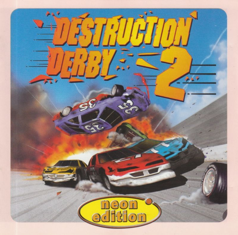 Destruction Derby 2 DOS Other Jewel Case - Front