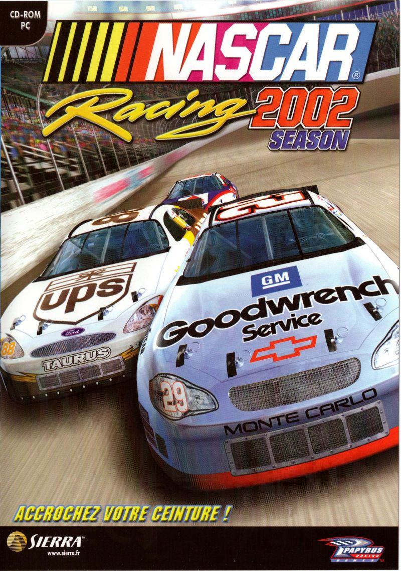 NASCAR Racing 2002 Season Windows Front Cover