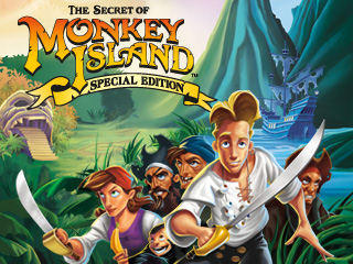 The Secret of Monkey Island: Special Edition Windows Front Cover
