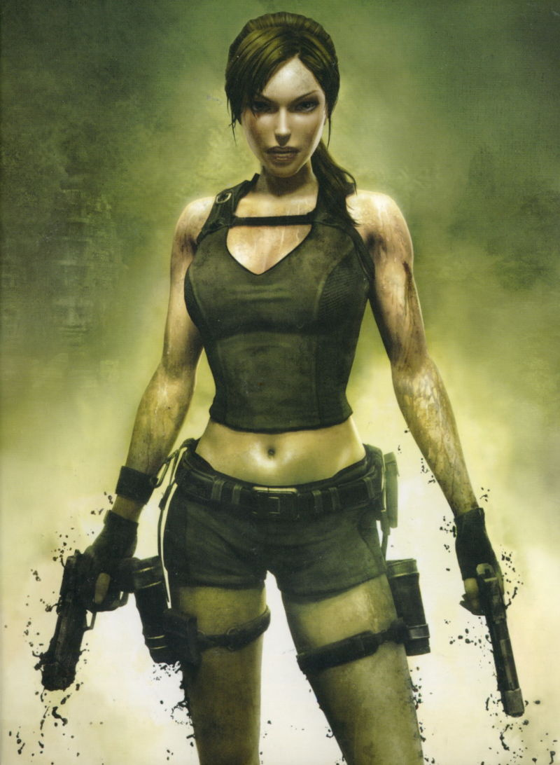 Tomb Raider: Underworld (Limited Edition) Xbox 360 Inside Cover Right