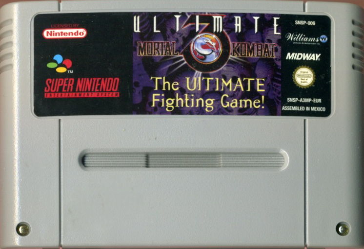 Ultimate Mortal Kombat 3 SNES Media