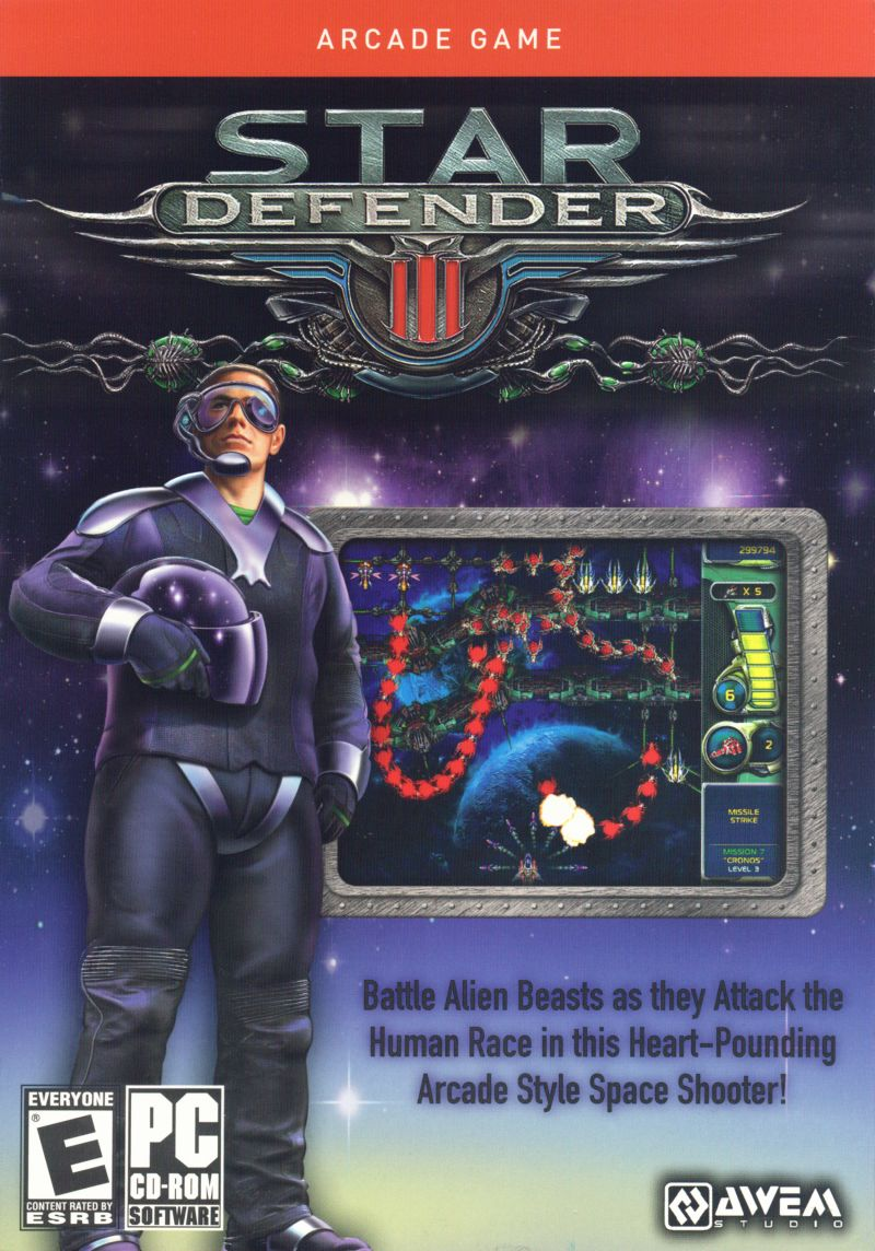 Star Defender III Windows Front Cover