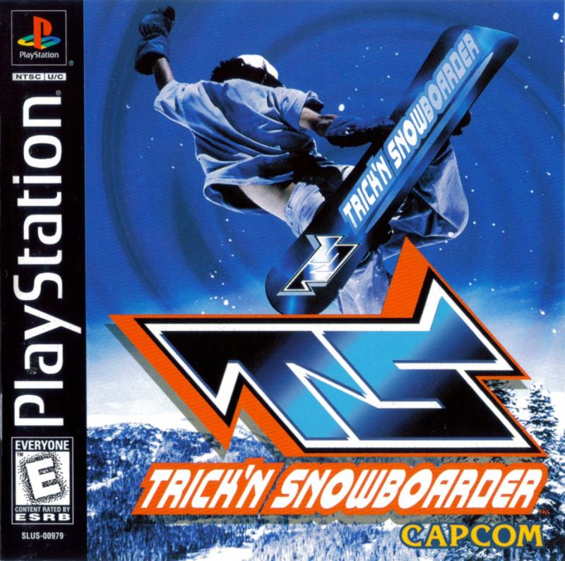 Trick'N Snowboarder PlayStation Front Cover