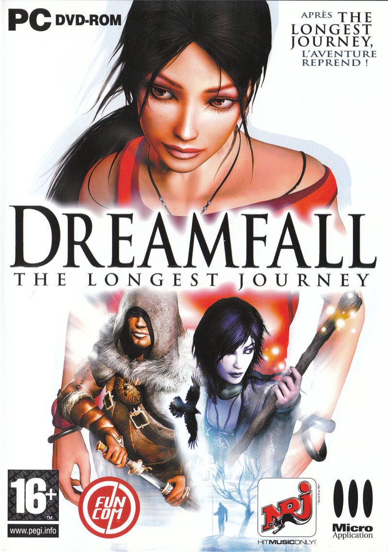 Dreamfall: The Longest Journey Windows Other Keep Case Front Cover