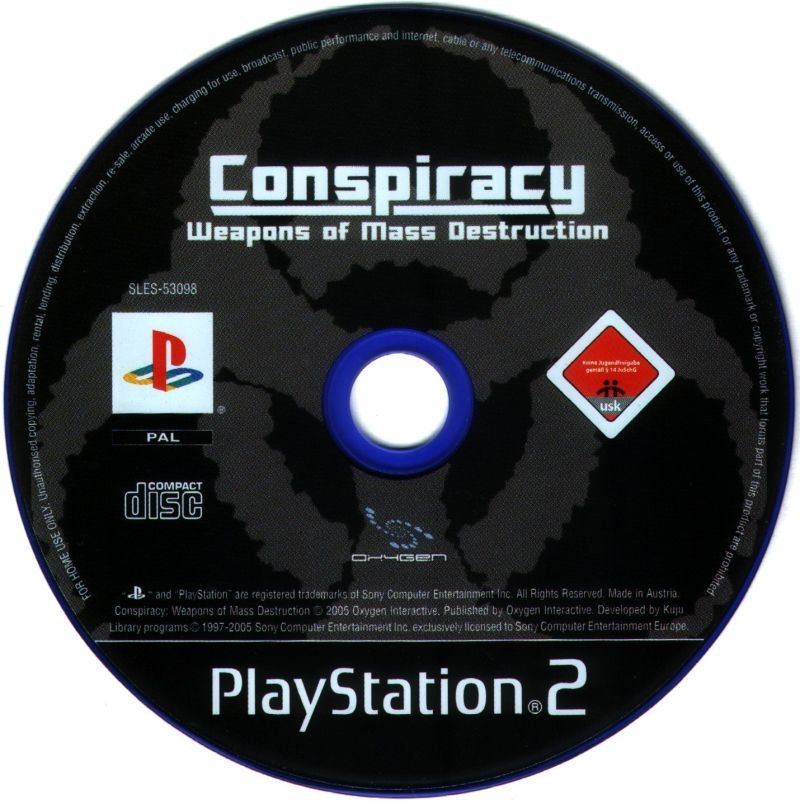 Conspiracy: Weapons of Mass Destruction PlayStation 2 Media