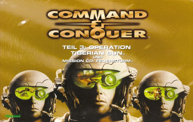 Command & Conquer: Tiberian Sun - Firepower Windows Front Cover