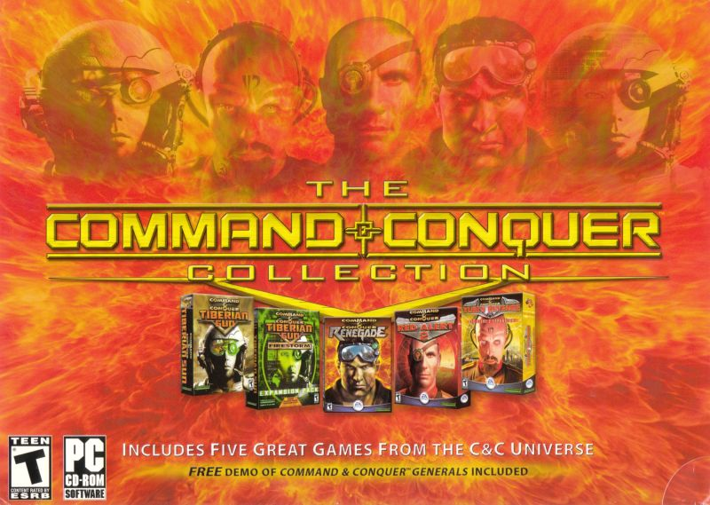 The Command & Conquer Collection Windows Front Cover