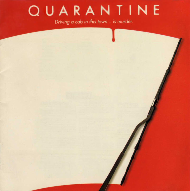 Quarantine DOS Other Jewel Case - Front