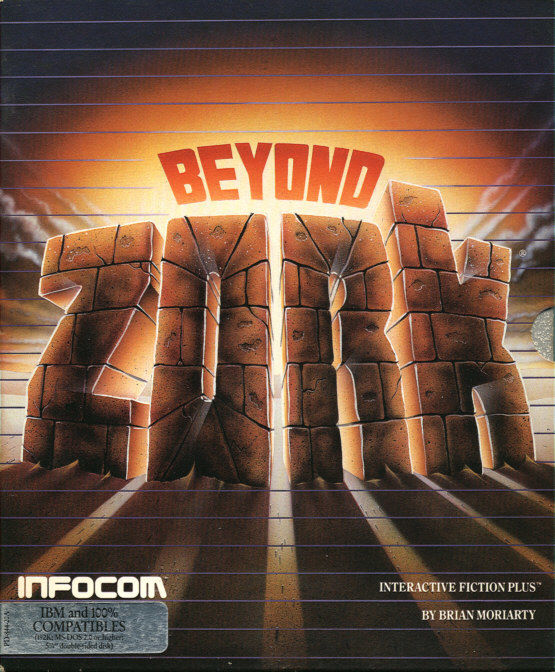 Beyond Zork: The Coconut of Quendor DOS Front Cover