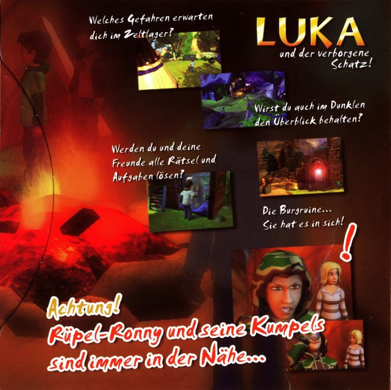 Luka und der verborgene Schatz Windows Inside Cover Right