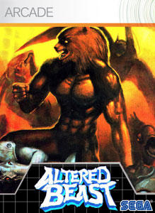 Altered Beast Xbox 360 Front Cover