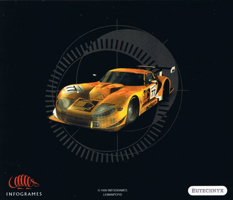 Test Drive: Le Mans Windows Other Jewel case - back