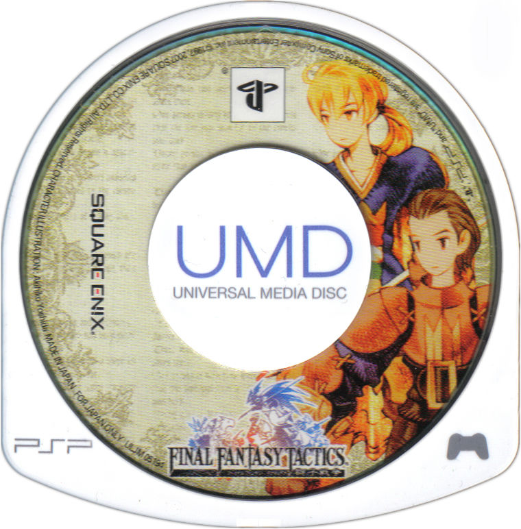 Final Fantasy Tactics PSP Media