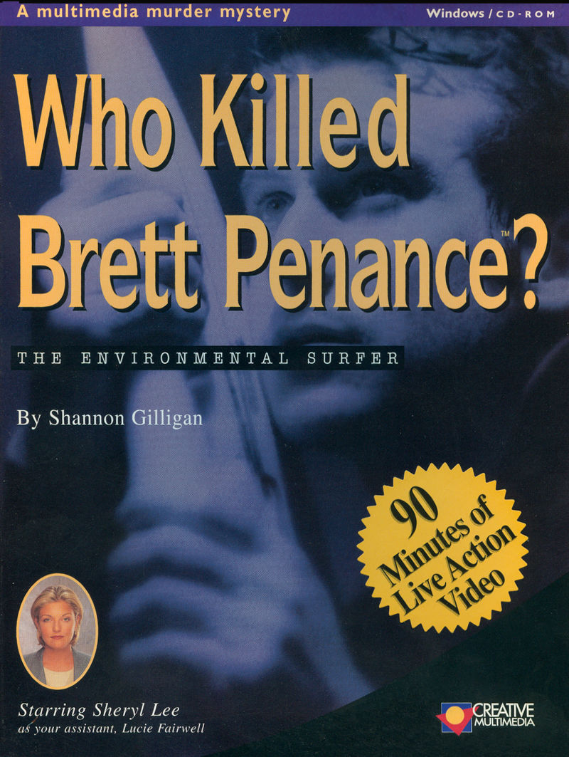 Who Killed Brett Penance?: The Environmental Surfer Windows Front Cover