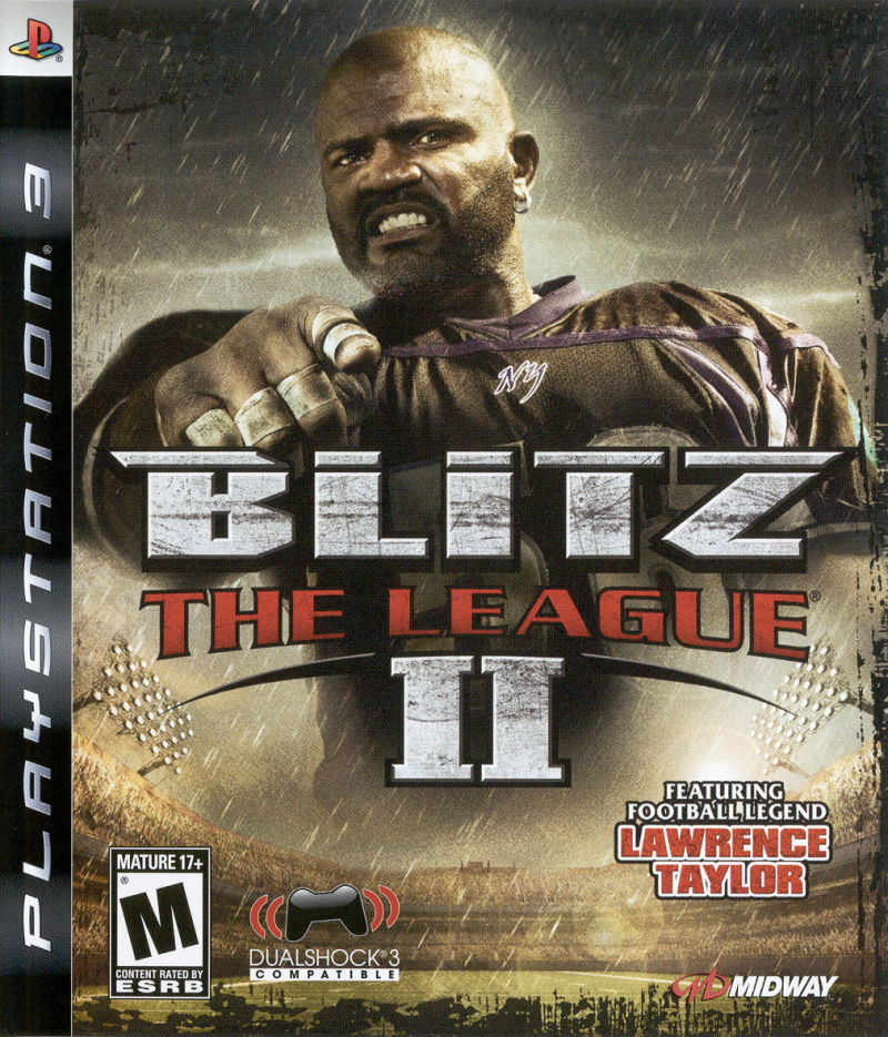 Blitz: The League II (2008) PlayStation 3 box cover art