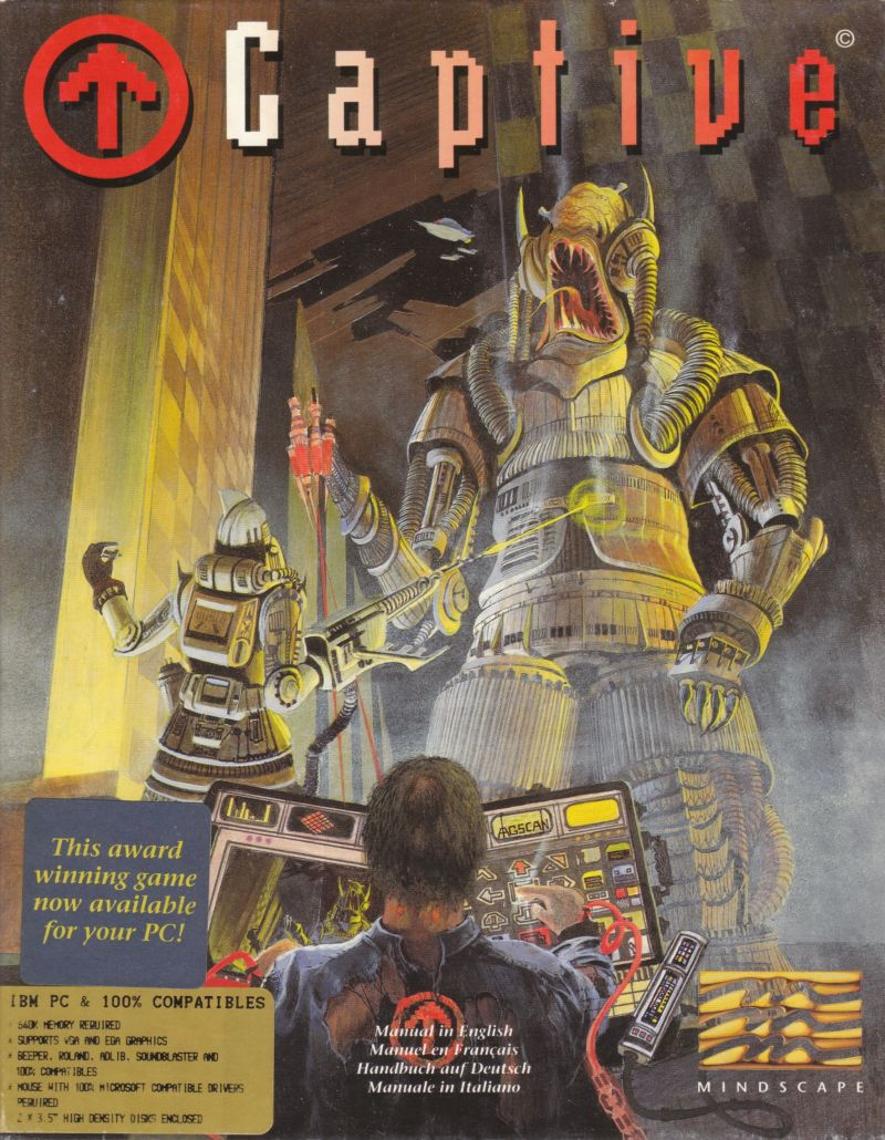 Captive DOS Front Cover