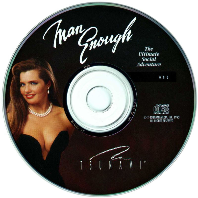 Man Enough DOS Media Disc 1/2