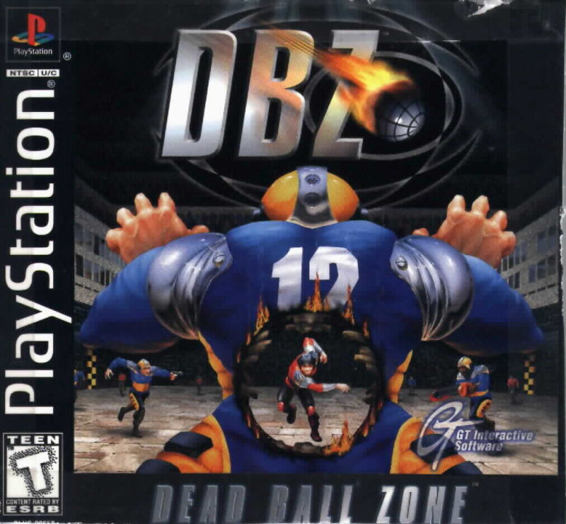 DBZ: Dead Ball Zone for PlayStation (1998) - MobyGames