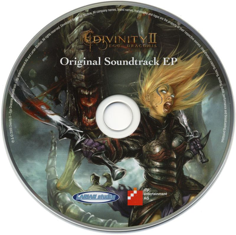 Divinity II: Ego Draconis (Collector's Edition) Windows Media Soundtrack Disc