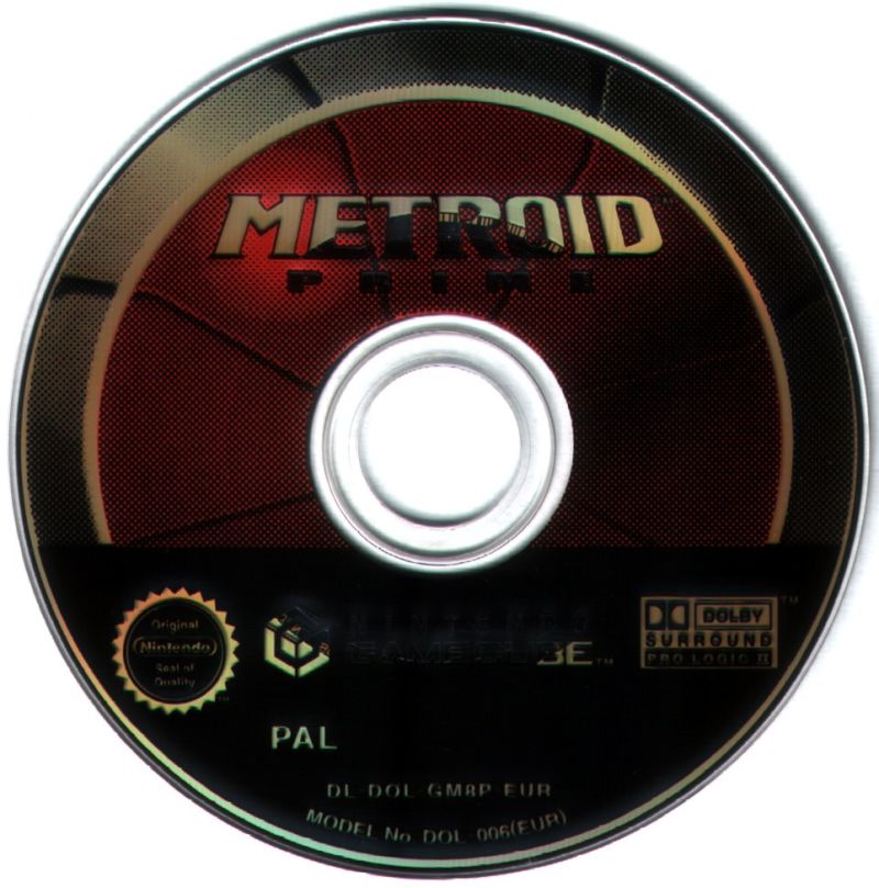 Metroid Prime GameCube Media