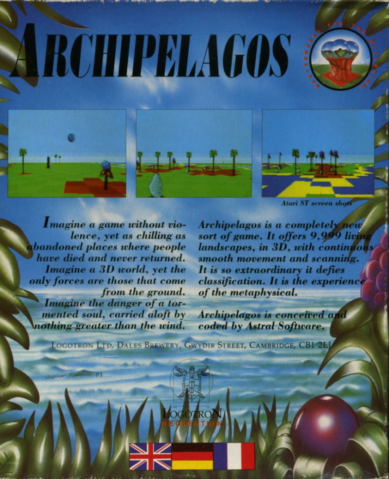 Archipelagos DOS Back Cover