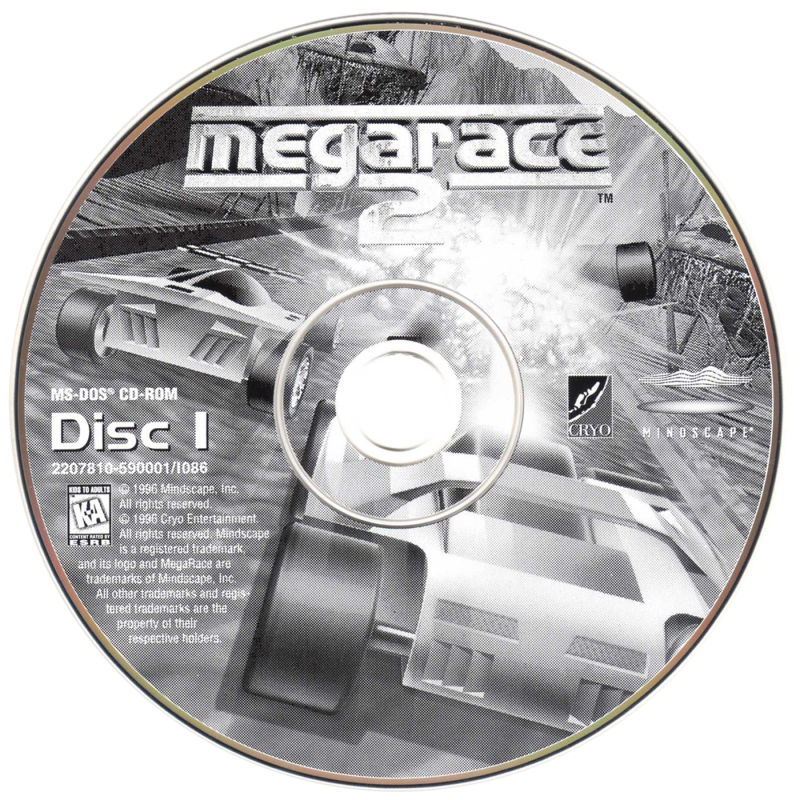 MegaRace 2 DOS Media Disc 1