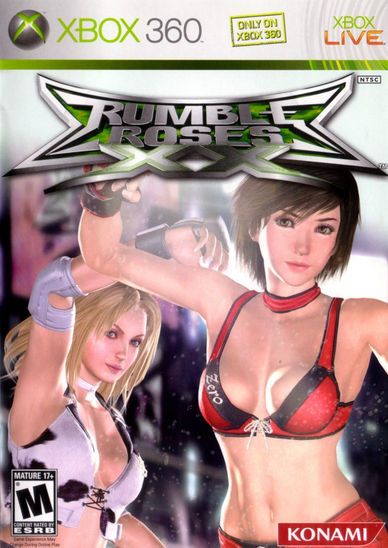Rumble Roses XX Xbox 360 Front Cover