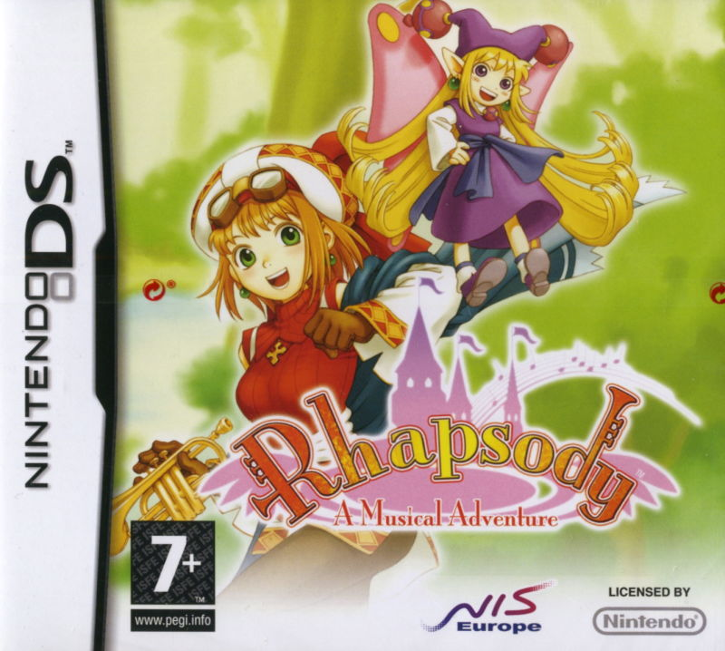 Rhapsody: A Musical Adventure Nintendo DS Front Cover