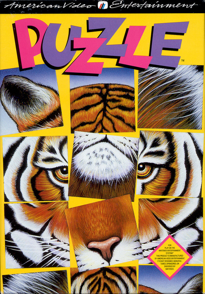 Puzzle NES Front Cover