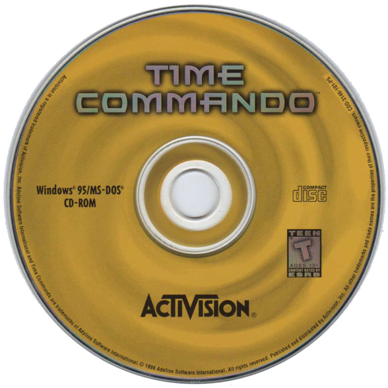 Time Commando DOS Media
