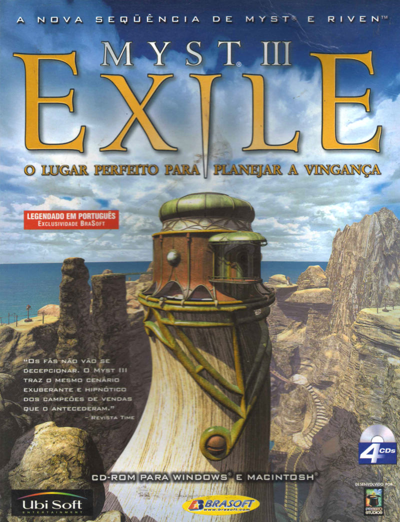 myst iii exile 2001 windows box cover art mobygames