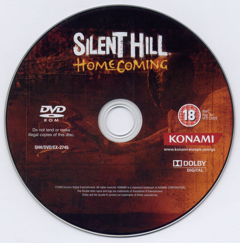 Silent Hill: Homecoming Windows Media