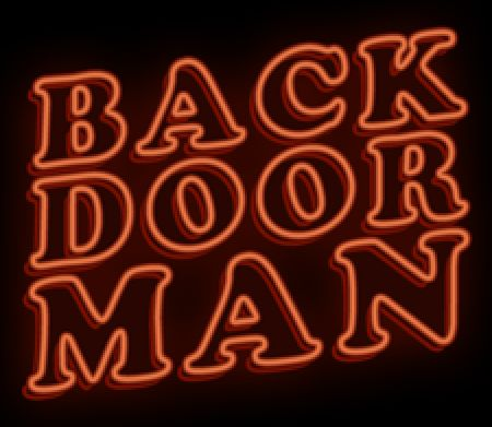 Back Door Man Windows Front Cover