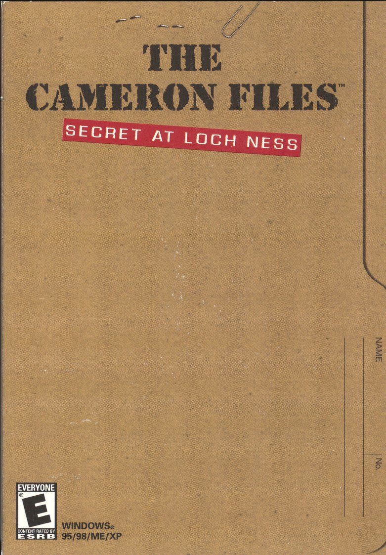 The Cameron Files: Secret at Loch Ness Windows Front Cover