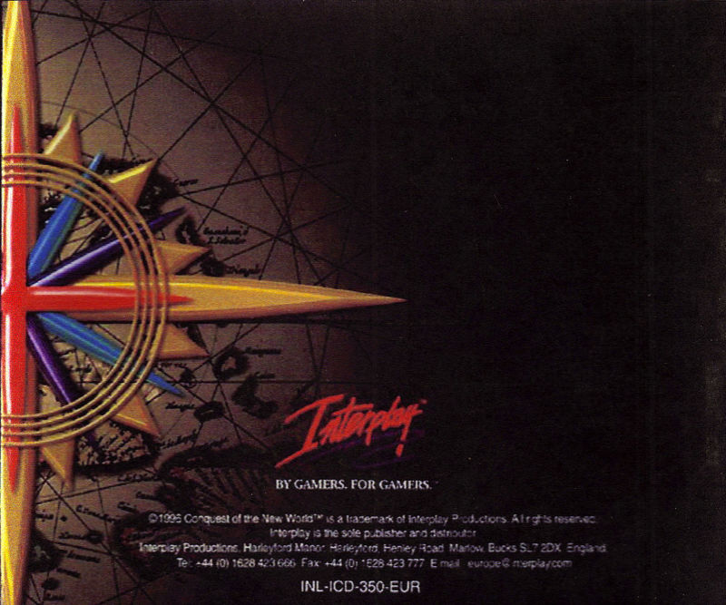 Conquest of the New World: Deluxe Edition Windows Other Jewel Case Back