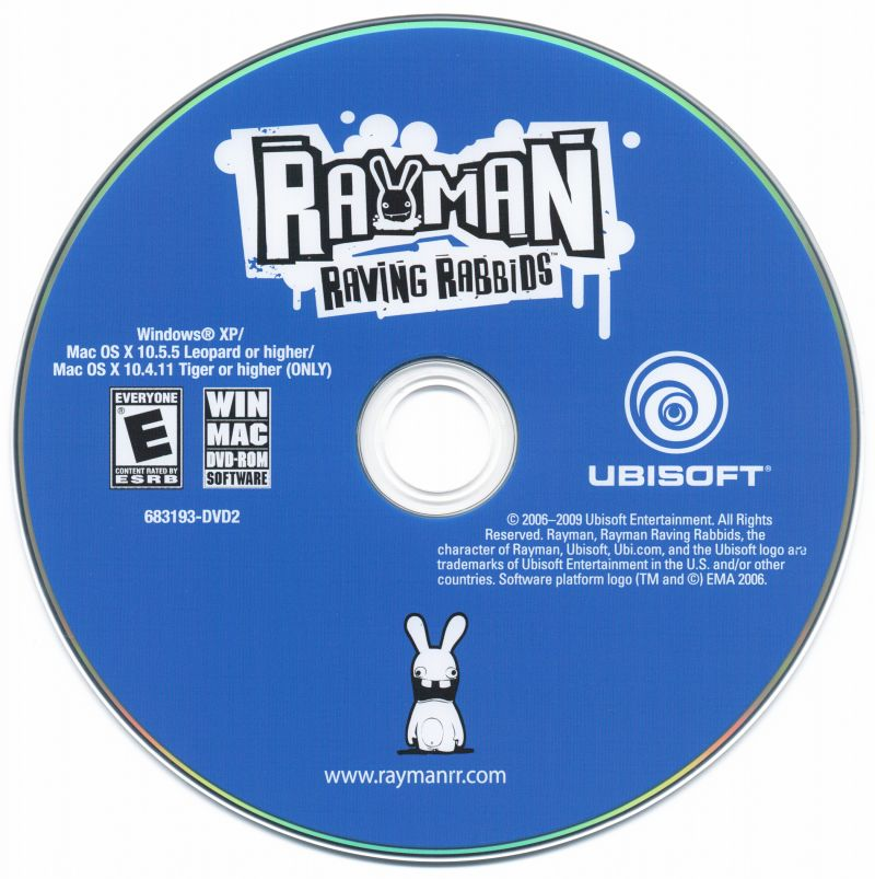 Rayman Raving Rabbids Macintosh Media