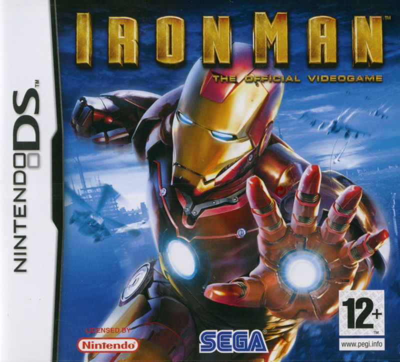 Iron Man Nintendo DS Front Cover