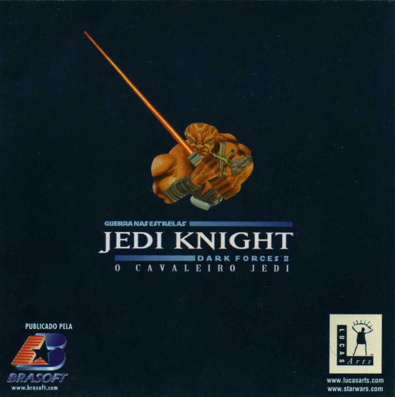 Star Wars: Jedi Knight - Dark Forces II Windows Other Jewel Case - Inside