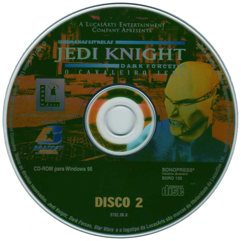 Star Wars: Jedi Knight - Dark Forces II Windows Media Disc 2