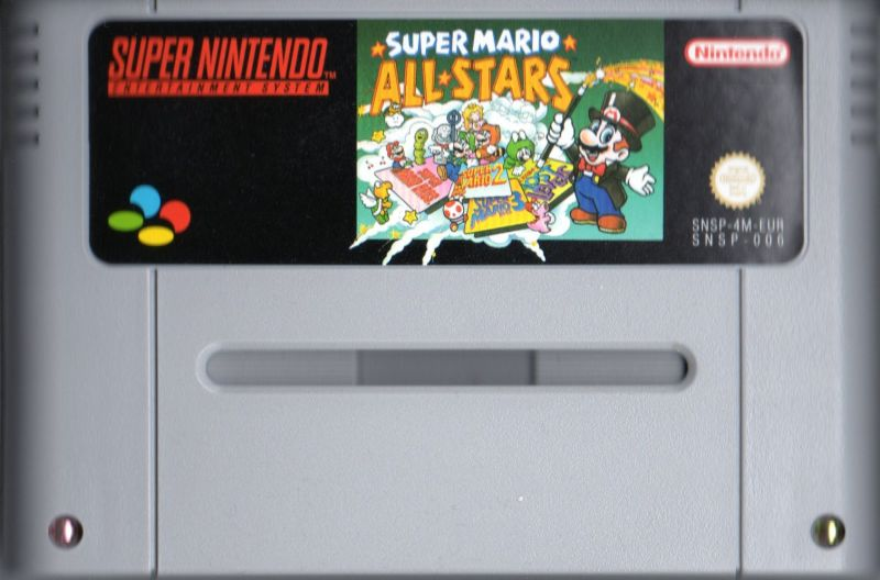 Super Mario All-Stars SNES Media