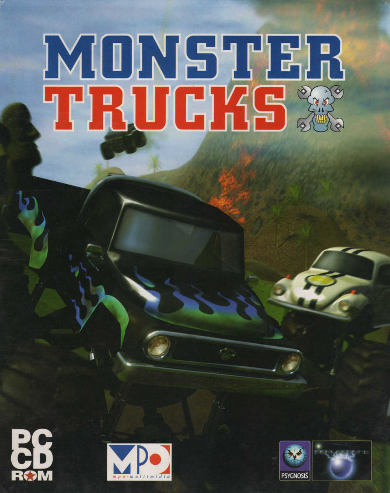 Thunder Truck Rally DOS Front Cover