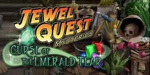 Jewel Quest Mysteries: Curse of the Emerald Tear Macintosh Front Cover
