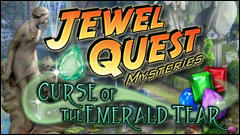 Jewel Quest Mysteries: Curse of the Emerald Tear Windows Front Cover